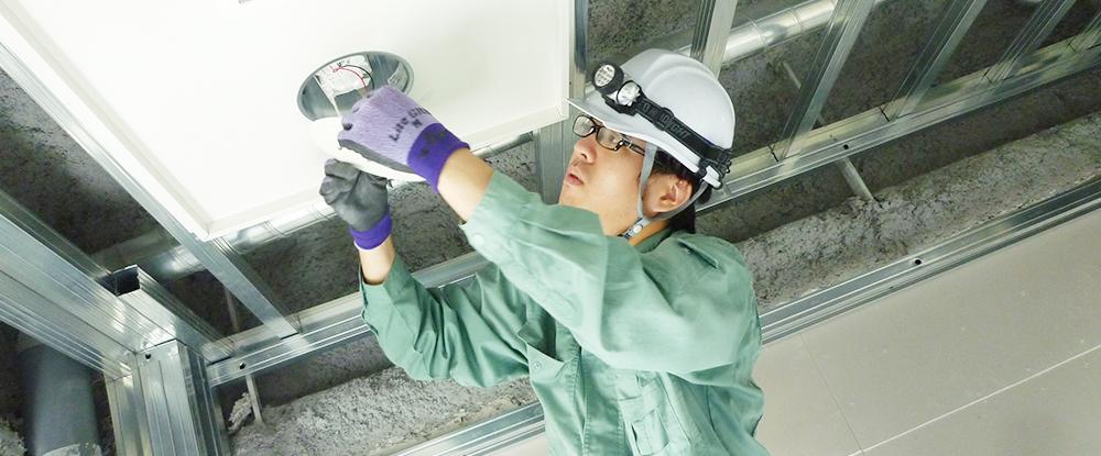 株式会社東横イン電建/電設工(未経験歓迎)◆「東横INN」の設備・内装工事を手がける職人になろう。研修充実。資格取得も補助